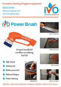 iVo Power Brush Brochure Cover