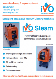 IVo Steam Brochure Cover